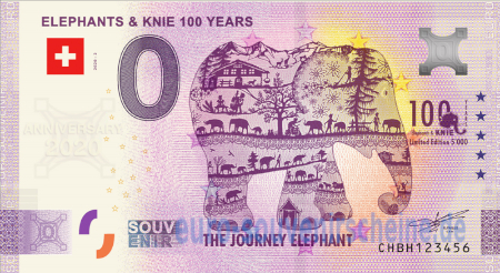 CHBH-2020-2 ELEPHANTS & KNIE 100 YEARS